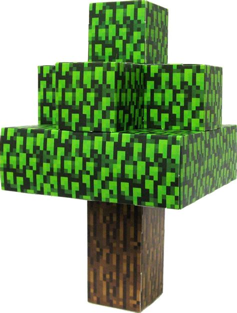 Papercraft Tree - minecraft oak tree papercraft on sale at toywiz