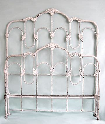 antique white iron headboard 25 best ideas about white iron beds on pinterest