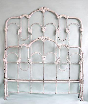 Antique White Iron Headboard 25 Best Ideas About White Iron Beds On Pinterest Farmhouse Irons White Metal Headboard And