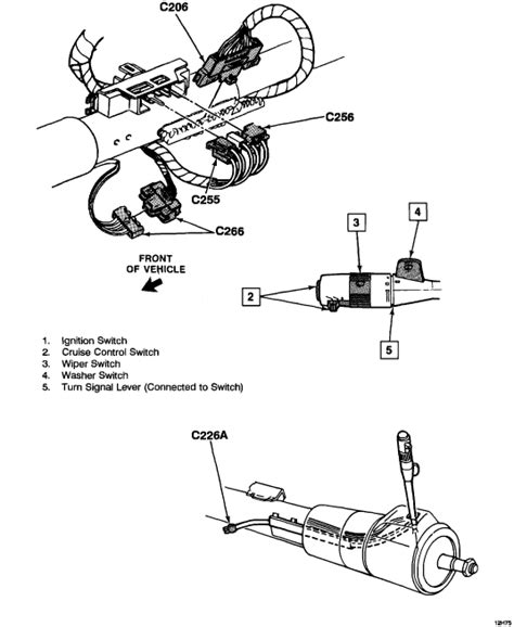 do i have to remove the entire steering column to replace the ignition lock cylinder on a 1993 do i have to remove the steering wheel and cover to be able to return the plastic piece that