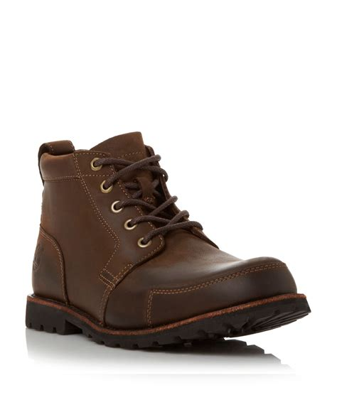 boots casual timberland casual boots in brown for lyst