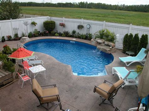 24 small swimming pool designs decorating ideas design inground pool patio ideas small pools design ideas back