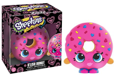 Shopkins Dlish Donut shopkins vinyl figure d lish doughnut www toysonfire ca