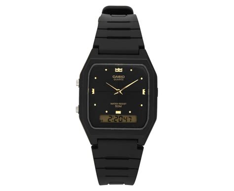 Casio Aw48he casio s 30mm aw48he 1a analogue digital black
