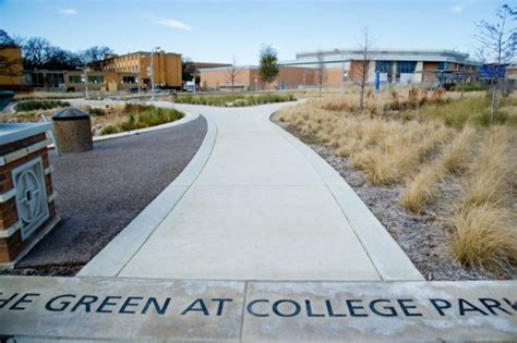 design ut meaning the green at college park is the first certified