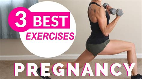 3 best prenatal exercises pregnancy workout at home