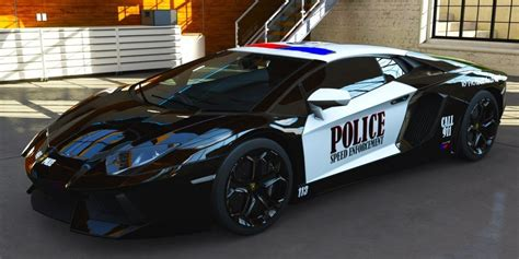10 Fastest Police Cars In Dubai