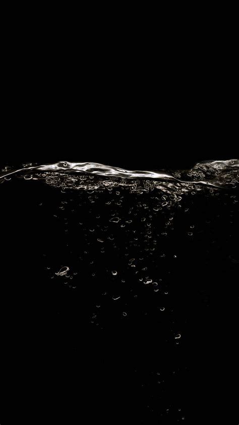 abstrak wallpapers for android black abstract water division android wallpaper free download
