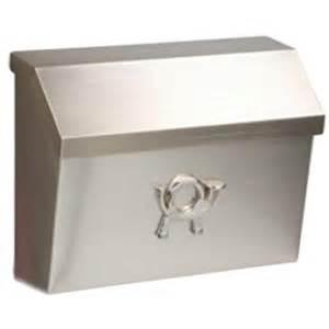 home depot wall mount mailbox gibraltar mailboxes cambridge satin nickel decorative