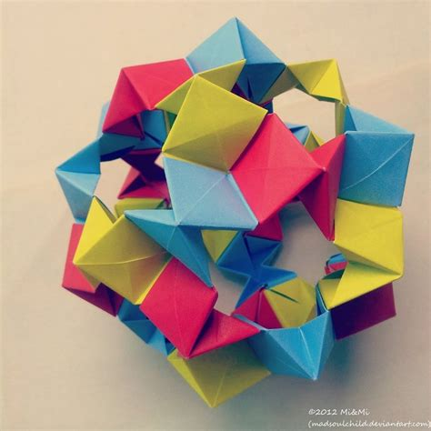 Modular Origami Free - modular origami cookie cutter 1 by madsoulchild on