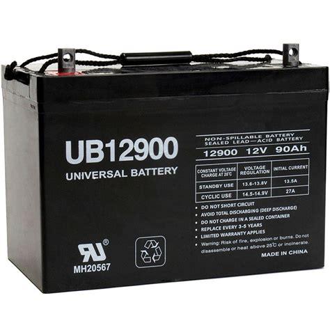 Home Depot Batteries Upg Sla 12 Volt Z1 Terminal Battery Ub12900 27