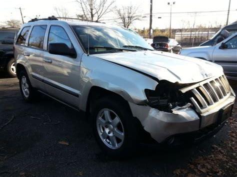 wrecked black jeep grand cherokee buy used 2008 jeep grand cherokee laredo v 6 87 000miles