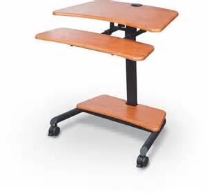 Ergonomic Sit Stand Desk Up Rite Workstation Height Adjustable Sit Stand Desk