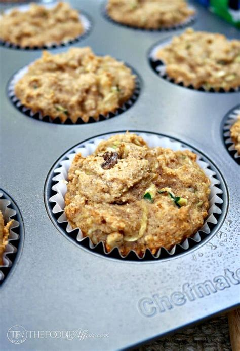 protein zucchini protein muffins with zucchini chopped walnuts 7 grams