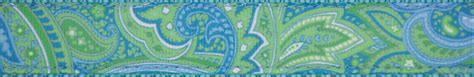 5 Blue Green And Everything Fab In Between by Blue And Green Paisley Www Pixshark Images