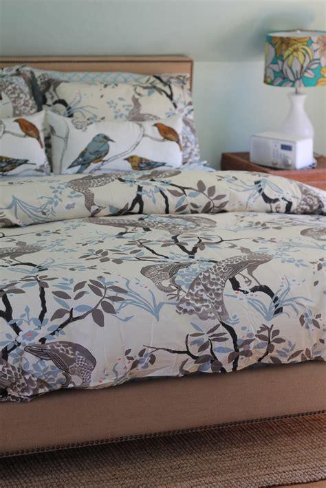 dwell studio comforter back on festive road new dwell studio peacock bedding
