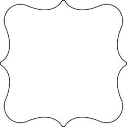 Template For Shapes by Bracket Shape Template Www Pixshark Images
