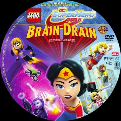 lego dc brain drain lego dc brain drain dvd covers