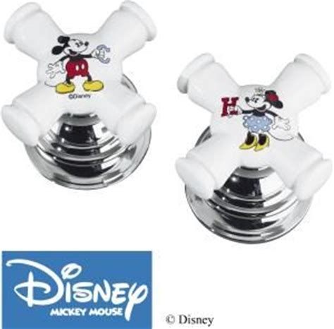 Mickey Mouse Bathroom Fixtures Disney Classic And Faucet Handles On Pinterest