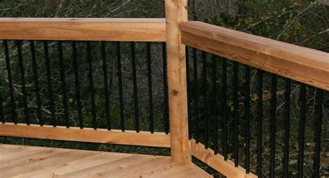 Aluminum Balusters For Deck Railings Amazing Aluminum Deck Spindles 8 Black Aluminum Balusters
