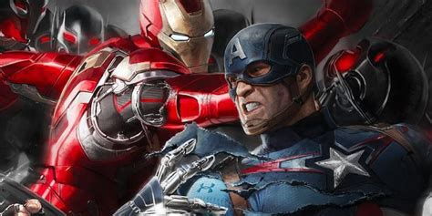 marvel shows first footage from captain america civil war captain america civil war first footage premieres syfywire