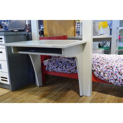 white high sleeper bed with desk desk for high sleeper bed mathy by bols desk and corner