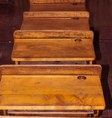 School Desk With Inkwell by Inkwell Desk Photograph By Canning