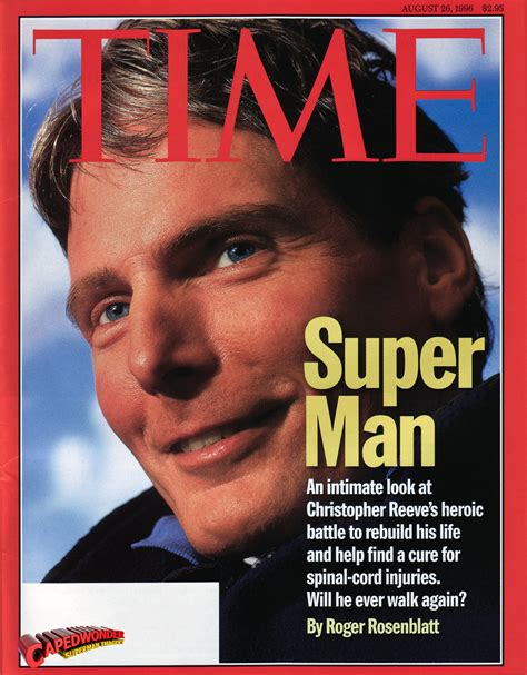 christopher reeve time magazine tribute letters capedwonder superman imagery