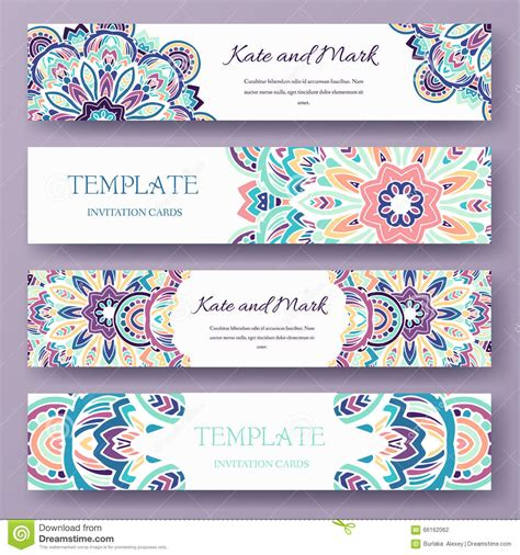 what elements defined ottoman art set of ethnic ornament banners and flyer concept vintage