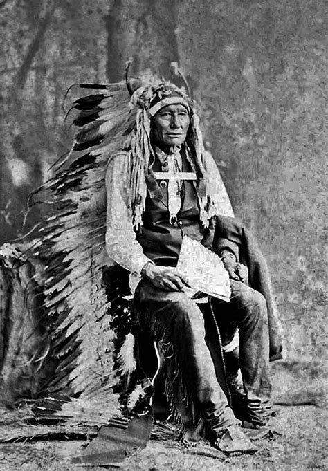 Cheyenne Chief Little Chief | Native American | Native
