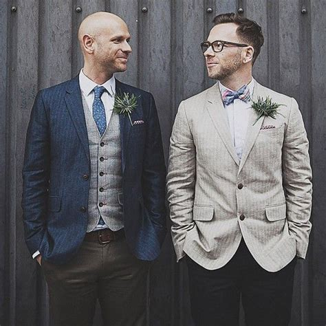 25  best ideas about Gay men weddings on Pinterest   Gay