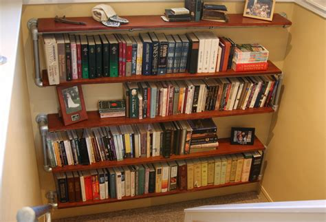 book shelving ideas 10 diy industrial shelf ideas