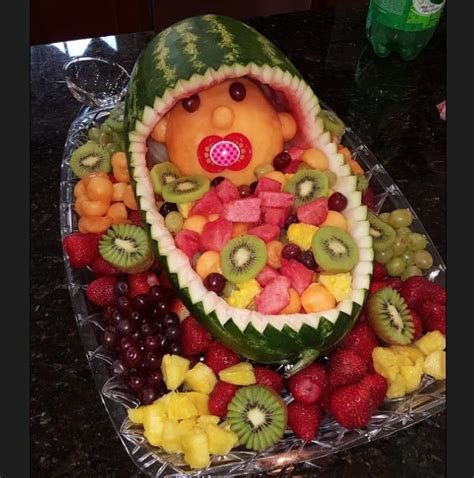 Baby Shower Fruit Basket Ideas by 25 Best Ideas About Baby Fruit Baskets On