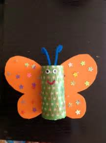 paper towel roll crafts butterfly from empty paper towel roll and me