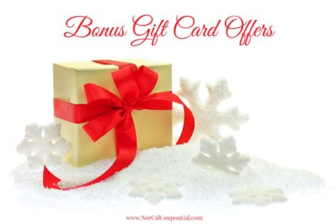 Gift Card Offers - bonus gift card offers