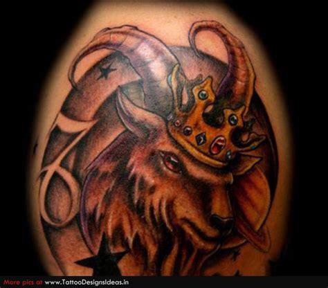 zodiac aries king tattoo image tattooshunt com