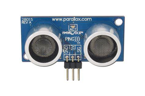 Sensor Jarak Ultrasonic Range Finder Hc Sr04 pololu parallax ping ultrasonic sensor 28015