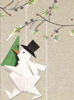 Origami Snowman - 1000 images about origami on origami