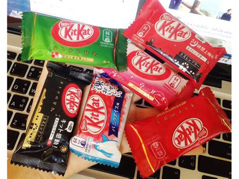 Kitkat Easter Banana Limited Edition japan has apple pie and carrot kit kats for easter fn