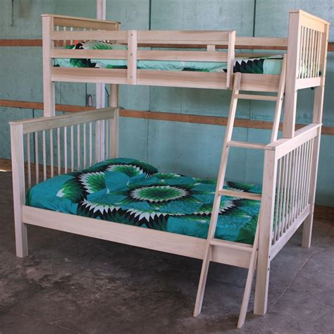 bunk beds twin over full futon woodwork built in bunk bed plans twin over full pdf plans
