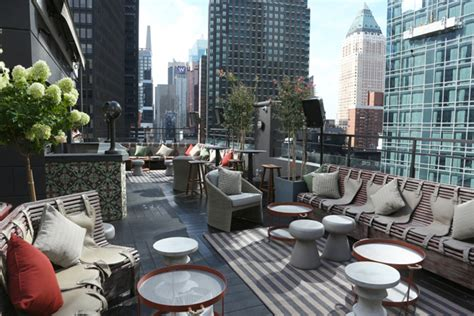 buro midtown phd terrace koncept penthouse zabava s pogledom na new