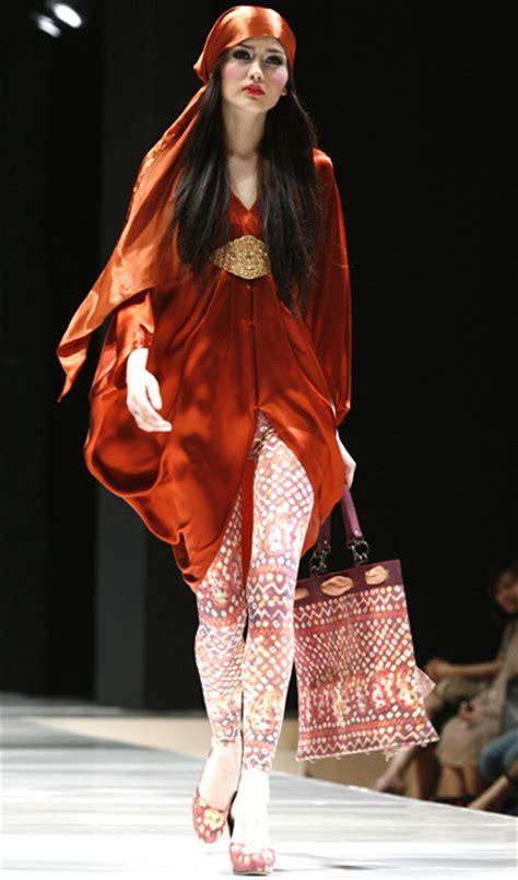 design fashion indonesia indonesian 2009 trend fashion show
