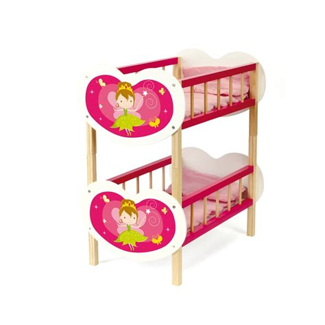 Wooden Fairy Bunk Bed Pretend Play Play Bunk Beds