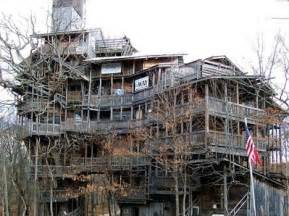 world s largest tree house stands 10 stories treehugger