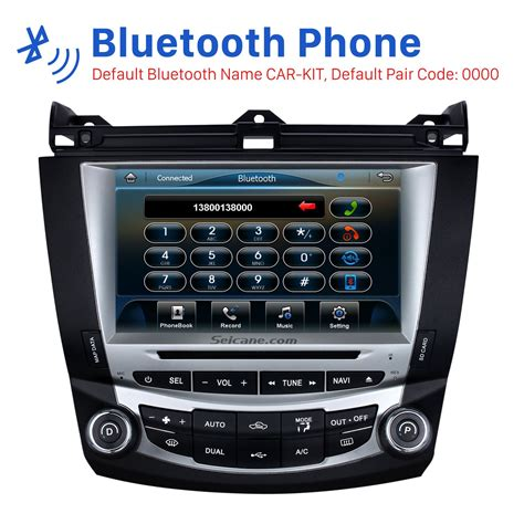 2004 honda accord radio kit car stereo radio replacement upgrade for 2003 2004 2005