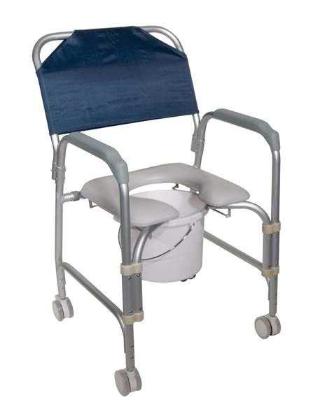 drive k d aluminum shower chair