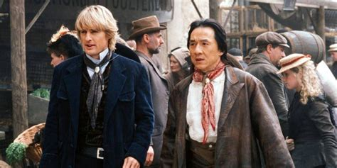 owen wilson and jackie chan jackie chan owen wilson reteaming for shanghai dawn