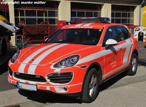 Werkfeuerwehr Porsche Leipzig by Kommandowagen Kdow Porsche Cayenne S Der Berufsfeuerwehr