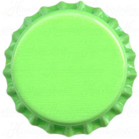 bottle cap humleg 229 rdens ekolager light green bottle caps 250 pcs