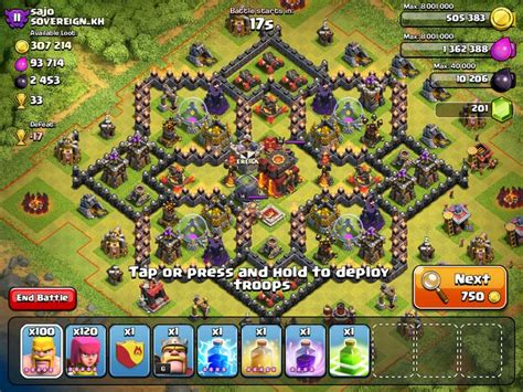 coc layout star star shape base clash of clans clash of clans